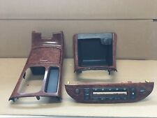 Toyota Camry Center Console CUP HOLDER heater control storage woodgrain (F15