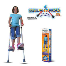 Geospace Walkaroo JR Lightweight Stilts: Ergonomic Design & Easy Balance Kids 5+