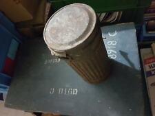 tubo portamaschera II guerra Whermacht