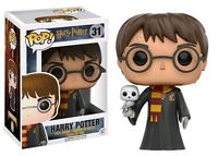 "HARRY POTTER - HARRY POTTER WITH HEDWIG  3.75"" POP VINYL FIGURE 31"