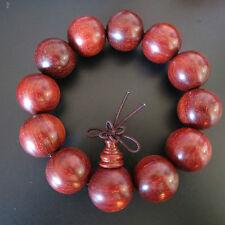 20mm Top Grade Tibetan Buddha Lobular Red Sandalwood Prayer Mala