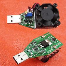15W 3.7-13V Industrial Electronic Load Resistor USB Discharge Battery Tester