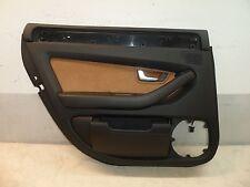Revêtement de portières Capot Package lumière arrière gauche Alcantara marron