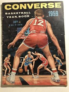 1959 Converse Basketball ALL AMERICANS Jerry WEST Oscar ROBERTSON Boston Celtics