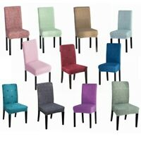 Spandex Stretch Dining Chair Covers Slipcovers Wedding Banquet Party Home Decor
