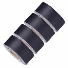 Gaffer Power Black Mini Gaff Tape , 4 Pack Rolls, No Residue, MADE IN THE USA