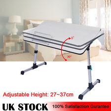Portable Adjustable Folding Table Mate Tv Dinner Laptop Travelling Bed Tray Desk