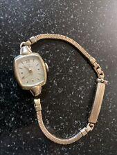 Antique Gold Filled Omega Art Deco Swiss Self Winding Automatic Watch 17 Jewels