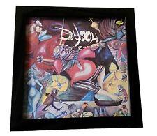 "12"" Display Frame for VINYL LP record Rétro Wall Art Noir"