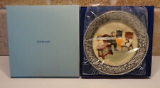 1980 Sebastion Miniatures Collector Plate There was a Time The Doctor & Box