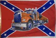 KENWORTH TRUCK SOUTH FLAG / BANNER 28'' X 42''