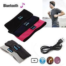 Wireless Bluetooth Stereo Headphone Sports Sleep Headset Headband with Mic New