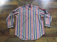 Polo Ralph Lauren Blaire Long Sleeve Button Down Shirt Pony Logo Mens Large