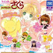 Takara CardCaptor Card Captor Sakura Deformed Series Figure Figurine Set of 6