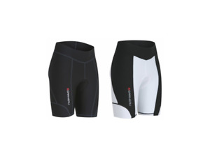 "Louis Garneau Women's Fit Sensor Short 7.5"" Blk/Wht XXL"