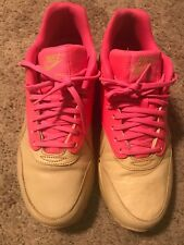 Nike Women's Air Max 1 VT QS Size 9 DS 2013 Vachetta Tan/Pink Flash 615868 202