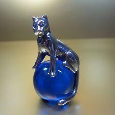 Cartier Paperweight 925 Silber *** Panther auf Kugel sitzend*** GUT ERHALTEN