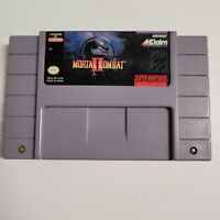 Mortal Kombat II (2) Super Nintendo Snes Midway Fighting Game Cartridge Only