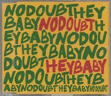 NO DOUBT -Hey Baby- Enhanced CD Single Gwen Stefani