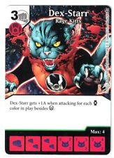 Dice Masters War Of Light, Dex-Starr Rage kitty 80-142 Card & Die