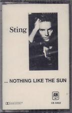 "STING "" NOTHING LIKE THE SUN "" MUSICASSETTA SIGILLATA   K7  (MC)"