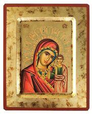VIRGIN AND CHILD, KAZANSKAYA-Greek Byzantine Orthodox Icon