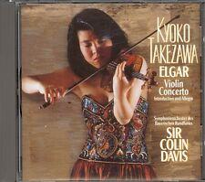 ELGAR - Violin Concerto / Introduction & Allegro - Kyoko TAKEZAWA / Colin DAVIS
