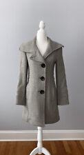 Steve By SEARLE Grey Coat Size 0 XS 80% Wool