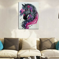 Full Drill DIY 5D Diamond Painting Embroidery Horse Crafts Stitch Kit Home Decor