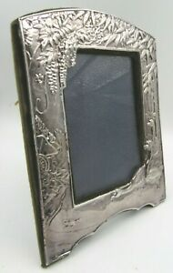 Keyford Frames Sterling Silver Photograph Frame in the Antique Oriental Style