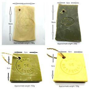 FRENCH SOAP SAVON DE MARSEILLE Olive Oil Vegetable Oil Soap Slices Bar Natural