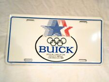 Buick Metal License Plate-Official Car of XXIII Olympiad-1984