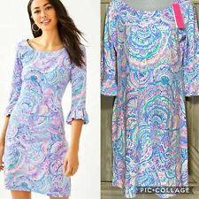 Lilly Pulitzer Sophie Ruffle Dress Happy As A Clam