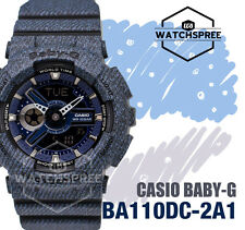 Casio Baby-G New Denim Collection Limited Watch BA110DC-2A1 AU FAST & FREE