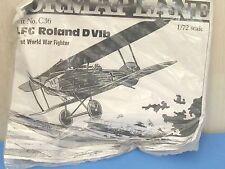 Forma avion vide formé LFG Roland DVIb WW1 Fighter C36 1:72