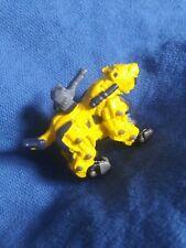 Zoids Battle Champions Zaber Fang Tomy Hasbro 2001 Mini Collection Yellow Tiger