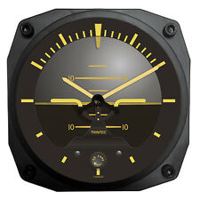 "Trintec Vintage Horizon (Attitude Indicator) - 6"" Aviation Wall Clock - 9063V"