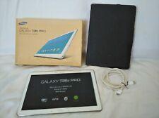 "Samsung Galaxy TAB PRO pantalla de 12.2""  SM-T900 3GB RAM  Blanco  *perfecta*"