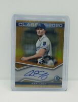 2020 Bowman Draft Chrome Asa Lacy Class of 2020 Gold Auto /50 🔥Rookie Rc Royals