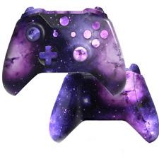 Xbox One S Controller Case Hülle Gehäuse Space Design Modding Cover Abdeckung
