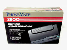 Phone Mate Telephone Answering Machine Model 3800 Vintage New In Box 🚚FREE📦