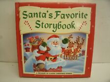 1996 Santa's Favorite Storybook: A Treasury of Classic Christmas Stories 356pgs