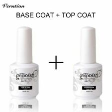 Top and Base Coat Gel UV Nail Polish Long Lasting Nail Primer Gel Uv Lamp