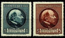 CHILE, IGNACY DOMEYKO, POLISH SCIENTIST, COMPLETE SET, YEAR 1954, MNH