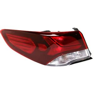 Tail Light For 2018-2019 Hyundai Sonata Driver Side Outer