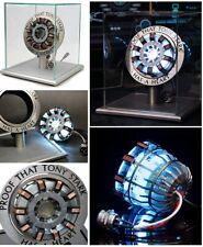 Iron Man 1:1 MK2 LED Arc Reactor with Touch Activated Display Case - UK Seller!