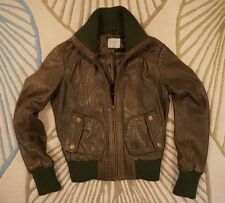 Oasis Leather Casual Cropped Coats & Jackets for Women