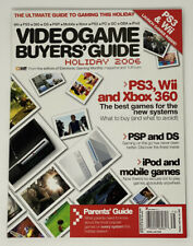 Electronic Gaming Monthly EGM 1UP.com Videogame Buyers Guide Holiday 2006 !RARE!