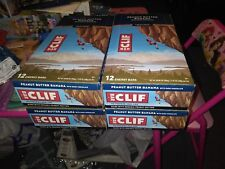 Clif bars peanut butter banana with dark chocolate 48 count