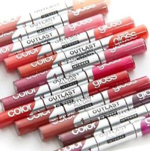 CoverGirl Outlast All-Day Intense Lipcolor + Gloss ~ You Choose